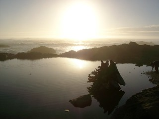 Sunset at Glass Beach, Fort Bragg, California (glassbeach13)