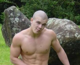 Hot guy shaved head