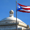 puerto rico capitol and flag