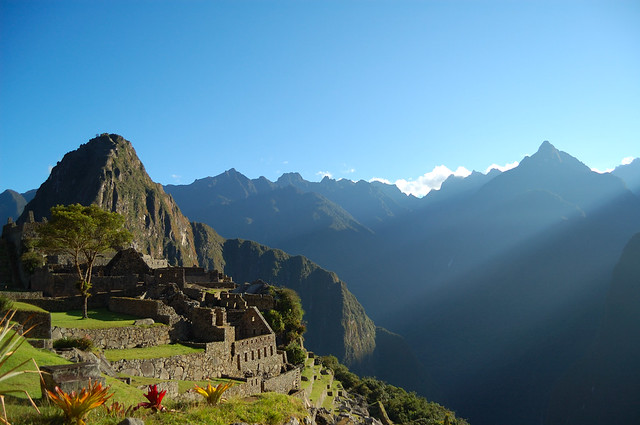 Sunrise in Machu Picchu