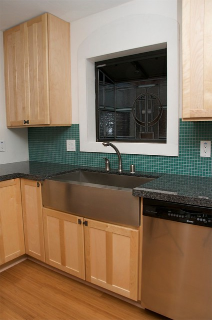 Install Larger Kitchen Sink