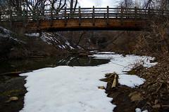Bridge across the river (Kwai?)