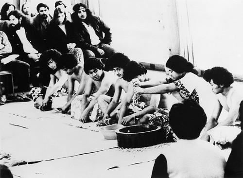 Kava ceremony, Hillary College, Otara, 1973