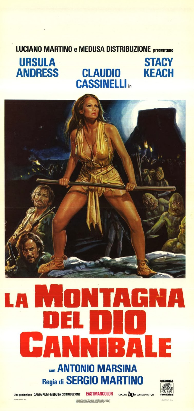 The Mountain of the Cannibal God (1978)