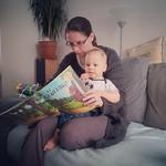 "Rosie & George reading ""The Gruffalo"""