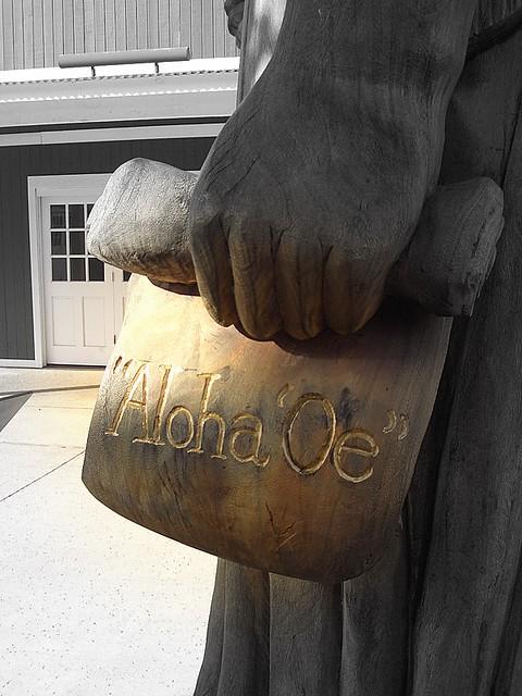Header of Aloha Oe