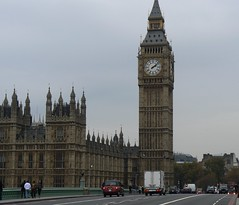 Grey day in London