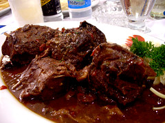 steak, spare ribs, beef, goat meat, food, dish, cuisine, venison, lamb and mutton,