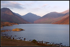 Sunset at Wastwater