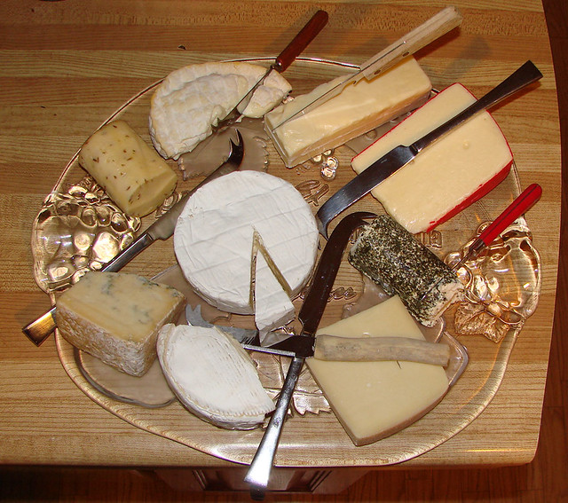 Cheese platter Feb 18, 2008