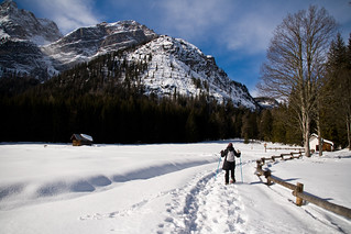 Neve sulle Dolomiti