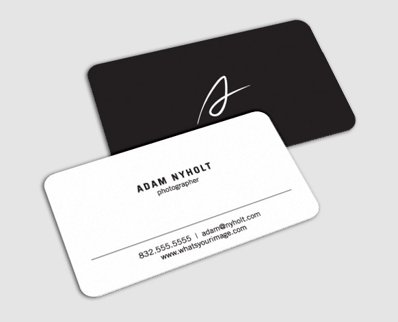 Adam Nyholt photography business card