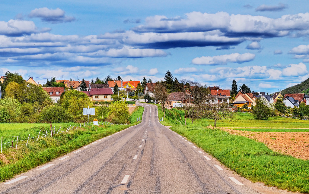The road to Walbach