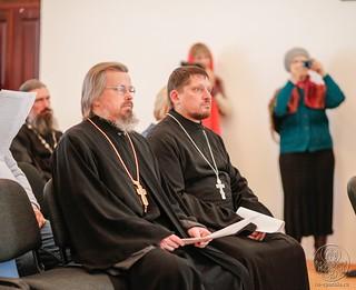 Молебен в Спасском соборе 400
