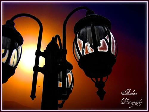 blue sunset orange black yellow scout andreas best explore greece macedonia thessaloniki lantern salonica ελλάδα zervas θεσσαλονίκη andzer ζέρβασ ανδρέασ wwwandzergr