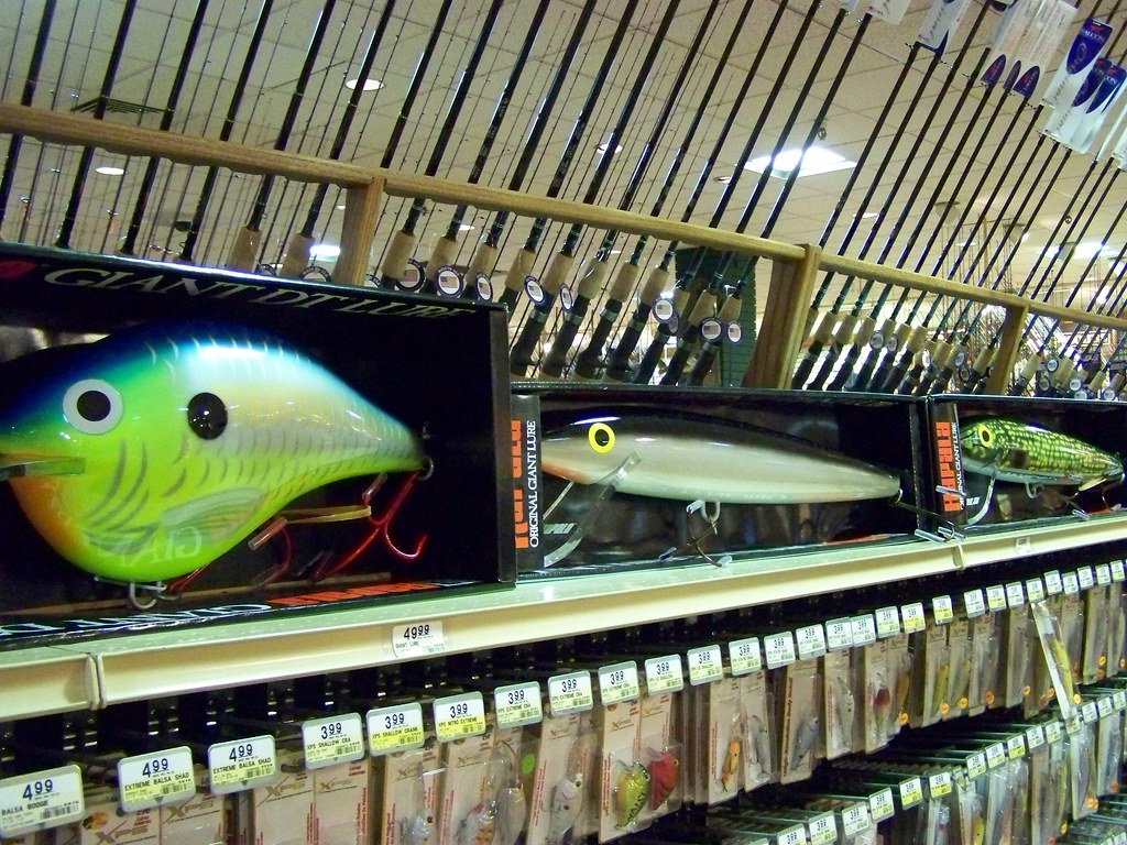Bass fishing decorations for Bass pro shop fishing