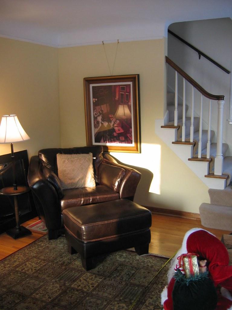 Chrome Living Room Wall Vlock