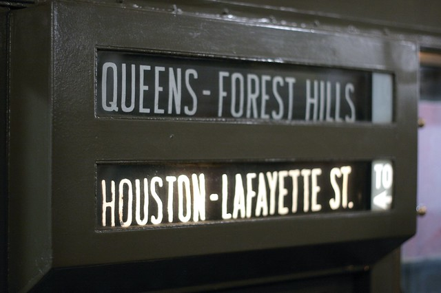 Vintage subway train ride, pt. 12