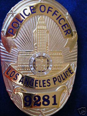 lapd badge - photo #19