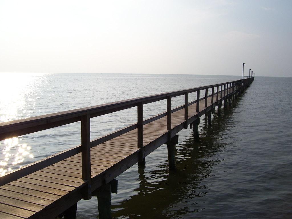 Galveston tx sea isle fishing pier flickr photo sharing for Galveston fishing pier