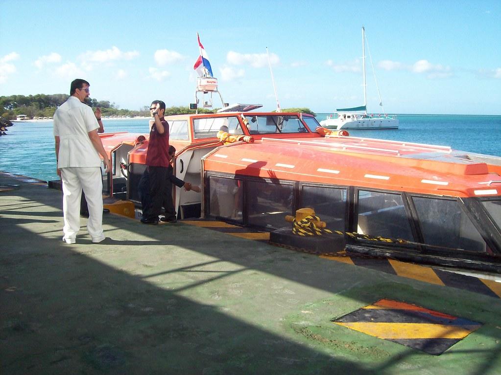 Back To The Boat Via Boat Margarita Rolling Okie