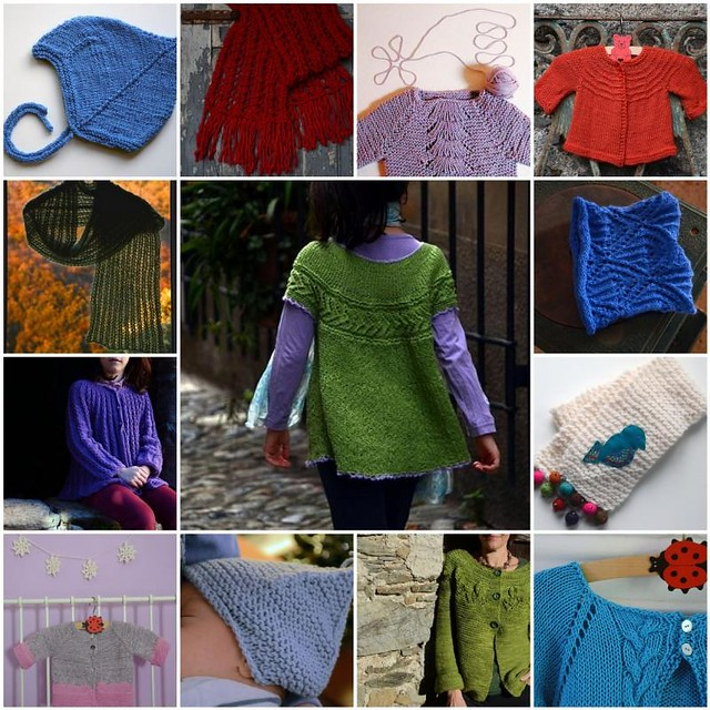 a year of knitting