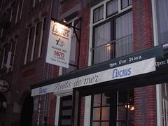 Lucius Seafood Restaurant in Amsterdam