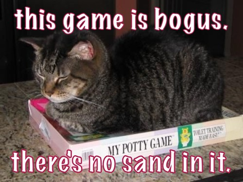 no sand