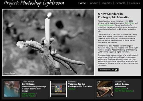 Project: Photoshop Lightroom