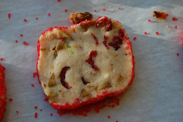 Pistachio Cranberry Icebox Cookies | Flickr - Photo Sharing!
