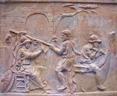 Argos construeix la nau dels Argonautes amb l'ajut de Minerva, British Museum