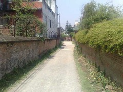trail, town, sidewalk, road, property, alley, infrastructure,
