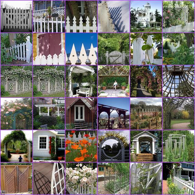 Garden Gate Design on Looking For    Garden Ideas Picket Fences  Gates  Pergolas  Trellis