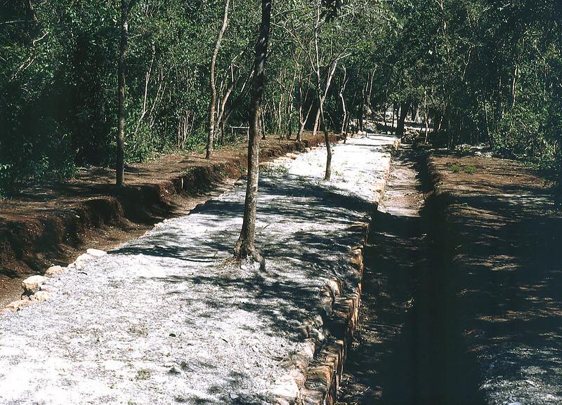 Sacbe at Chichen Itza, Yucatan, Mexiko