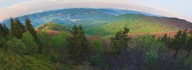 Вид с горы Лопата