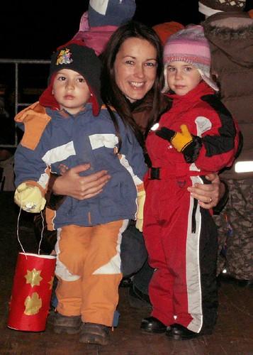 Lantern festival in Pa's home village