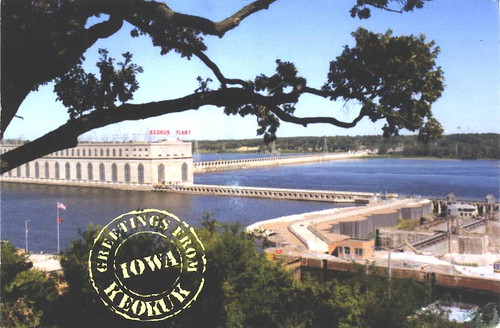 Iowa - Keokuk, Lock & Dam 19