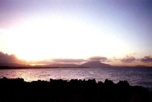ocean sunset cloud hotel dominicanrepublic atlantic caribbean reef sosua