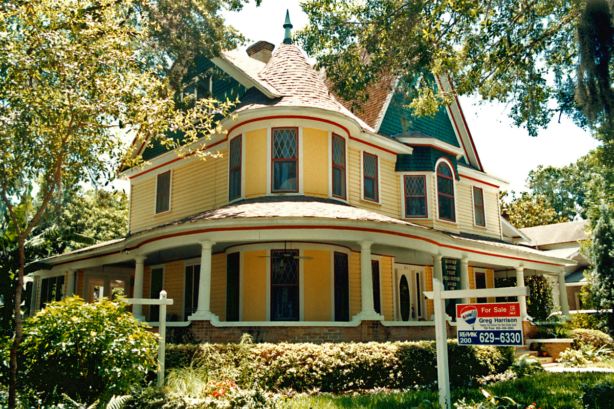 Victorian queen anne house sanford florida a photo on Queen anne house