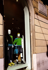 Rome - Via dei Corso 'Shop Window'
