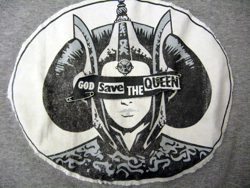 God Save Queen Amidala shirt