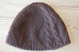 ravelry fishtrap aran hat january pattern by elizabeth. Black Bedroom Furniture Sets. Home Design Ideas