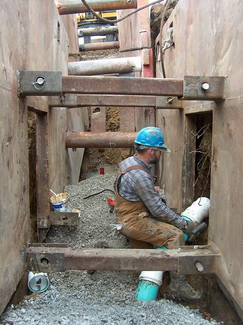Sanitary sewer service hook up flickr photo sharing