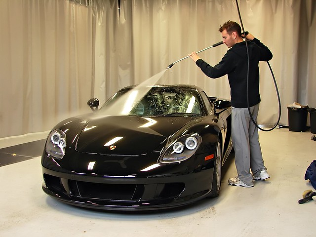 Porsche Car Wash