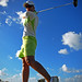 Grand Cayman Lady Golfer