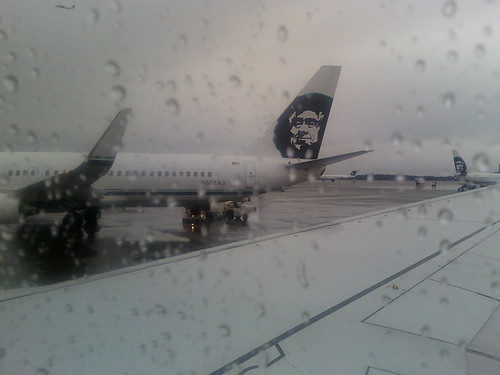 Departing Rainy Seattle