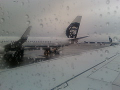 Departing Rainy Seattle