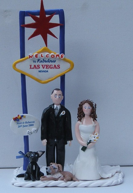 vegas wedding cake toppers cake toppers welcome to las vegas flickr photo 21575