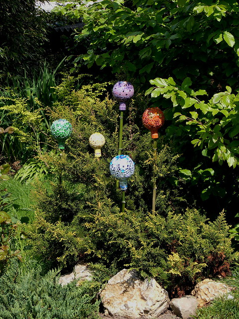 Garden Decoration Recycling Challenge In The Left