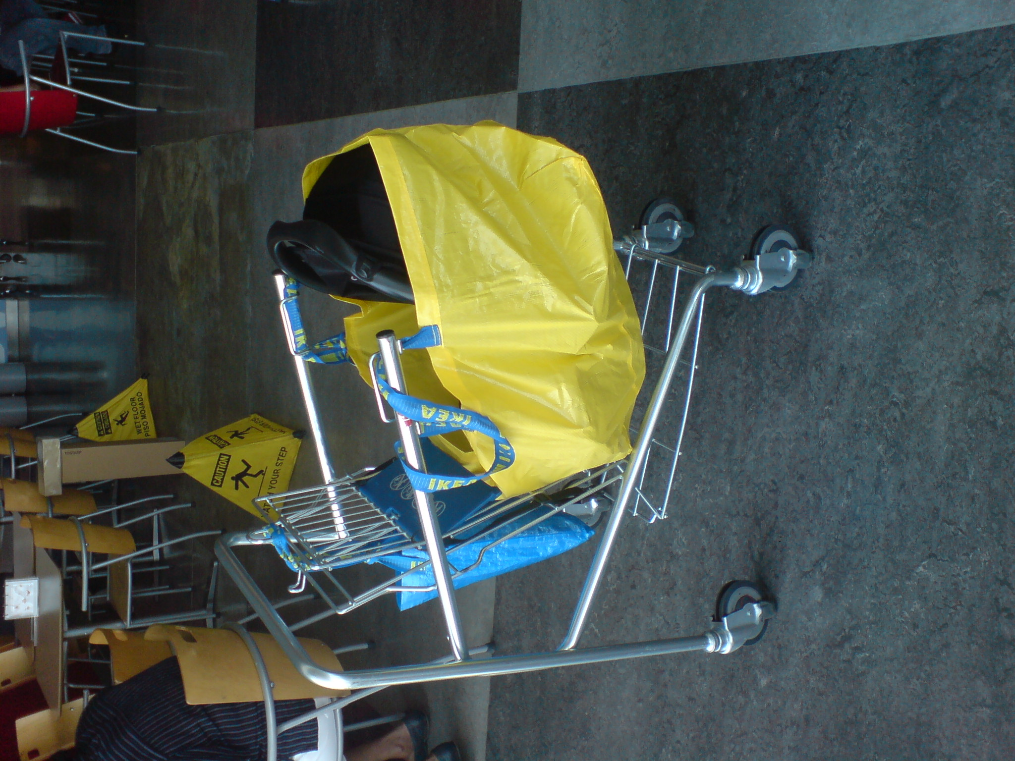 Back to photostream for Ikea luggage cart